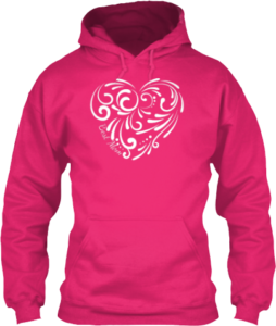 Beautiful Best Mom Heart Hoodie Mother's Day Gift