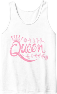 Queen Crown Pink Mother's Day Tank Top
